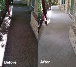 colour seal patio